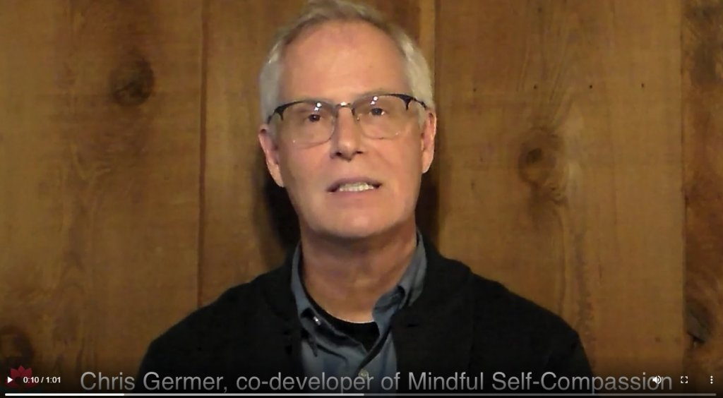 Chris Germer grondlegger training Mindful Self Compassion